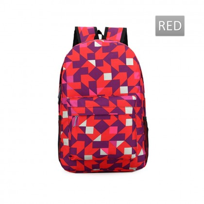 4GL Tri Colour Backpack Bag Pack School Bag Beg Sekolah Bag Sekolah Laptop Bag
