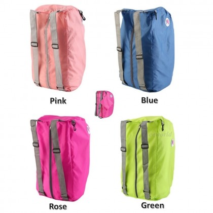 4GL 3-Way Foldable Shoulder Backpack Crossbody Waterproof Bag