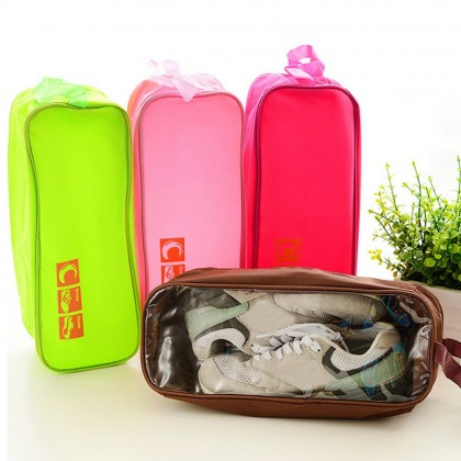 4GL Travel Storage Shoe Bag Pouch Transparent Box