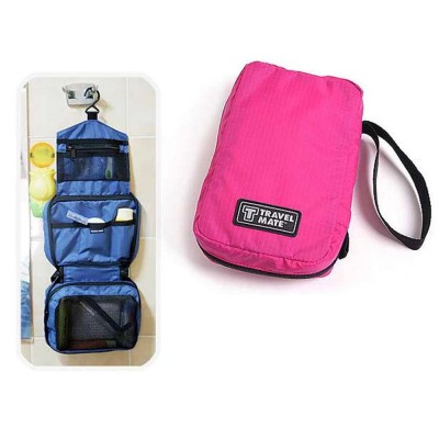 4GL Travel Mate Portable Travel Hanging Toiletries Pouch Bag