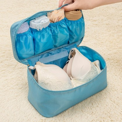 4GL Travel Underwear Bra Panties Bag Pouch Organizer