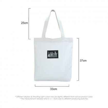 4GL Proud To Be Malaysian Canvas Casual Shoulder Bag Tote Bag A0609
