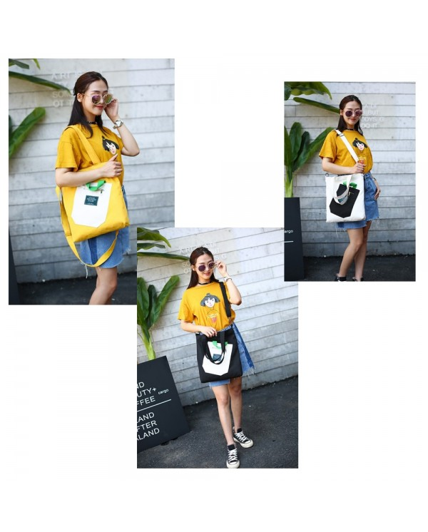 4GL Fashion Canvas Tote Bag Living Traveling Share Sling Bag