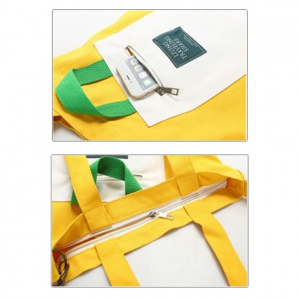 4GL Living Traveling Share Sling Bag Fashion Canvas Tote Bag