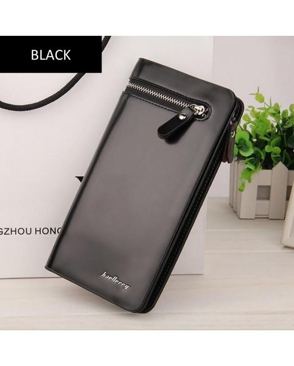 4GL Baellerry Q5005  High Capacity Wallet Women Leather Long Zipper Purse Dompet