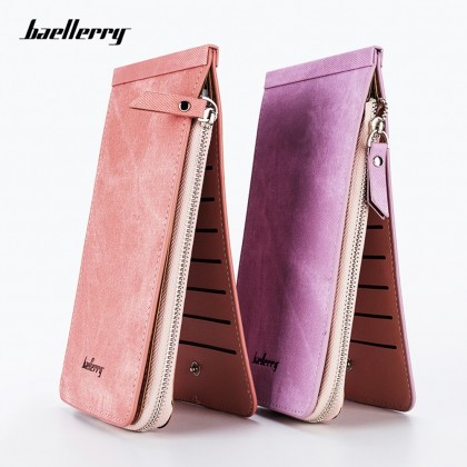 4GL Baellerry B1508 26 Card Slots Wallet Long Purse Zipper Dompet
