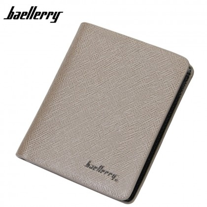 4GL Baellerry D6801 Vertical Short Wallet Men Women Purse Dompet