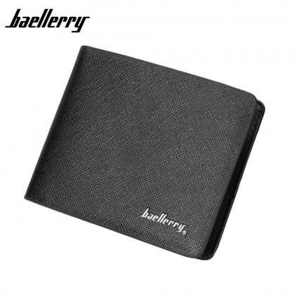 4GL Baellerry D6801 Men Women Wallet Short Purse Dompet Cross