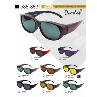 4GL IDEAL 8891 Fit Over Overlap Polarized Sunglasses Kaca Mata