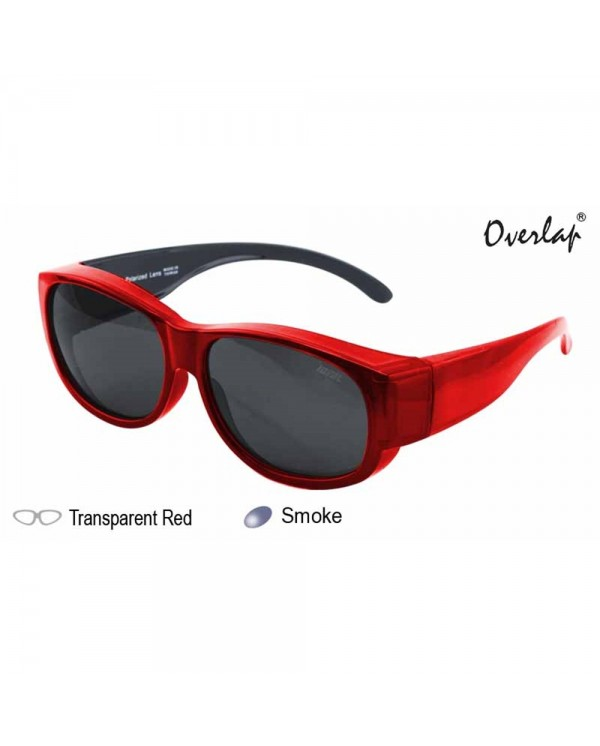 4GL IDEAL 588-8891 Fit Over Overlap Polarized Sunglasses