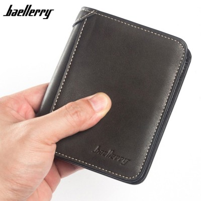 4GL Baellerry D9150 Men Women Wallet Short Purse Dompet Vertical