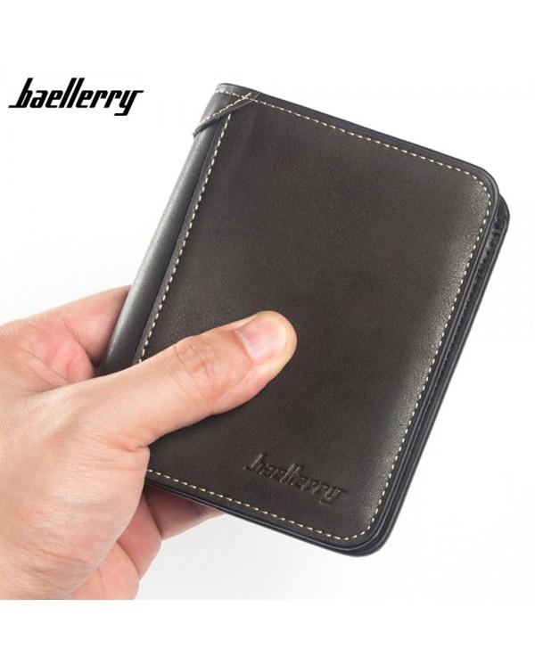 4GL Baellerry D9150 Men Women Wallet Short Purse Dompet Vertical
