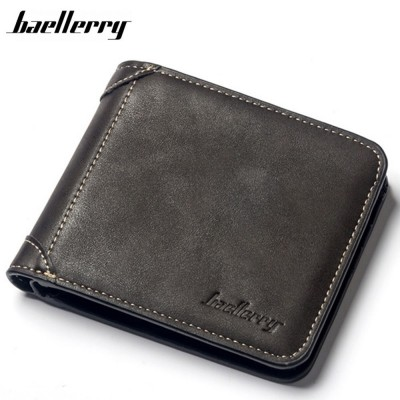 4GL Baellerry D9150 Men Women Wallet Short Purse Dompet Cross