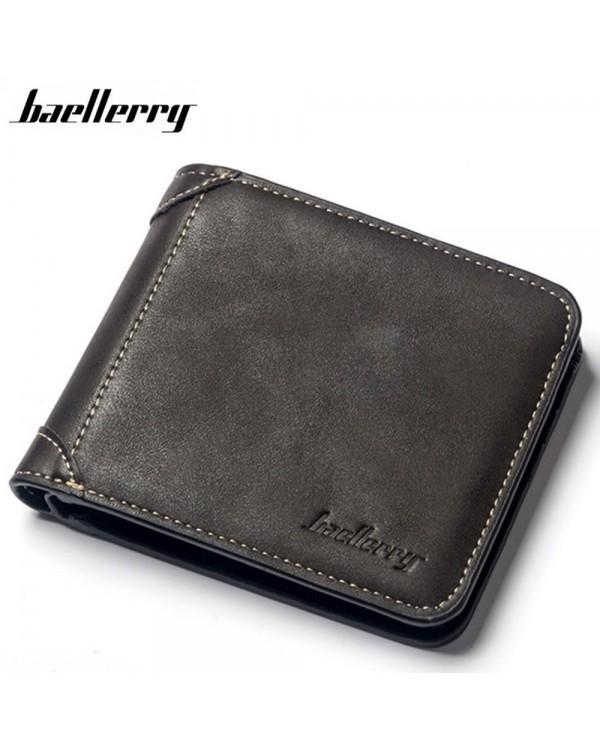 4GL Baellerry D9150 Men Women Wallet Short Purse Dompet Cross