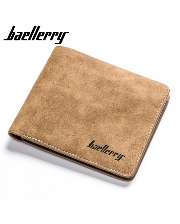 4GL Baellerry D1152 Men Women Wallet Short Purse Dompet Cross