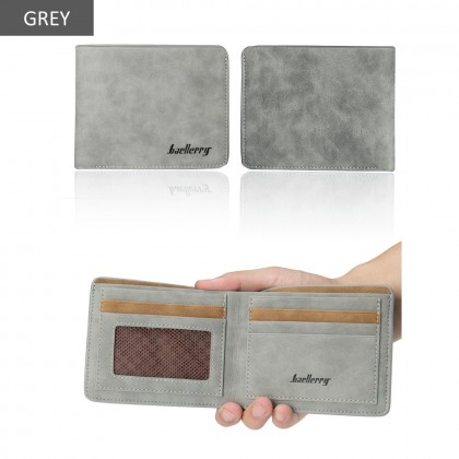4GL Baellerry D1152 Cross Short Wallet Men Women Purse Dompet