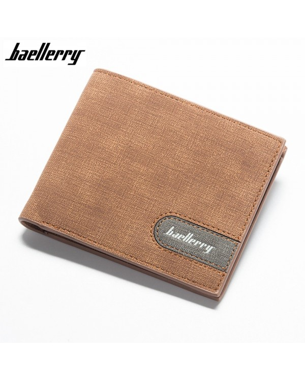 4GL Baellerry 13856-1 Men Women Wallet Short Purse Dompet Cross