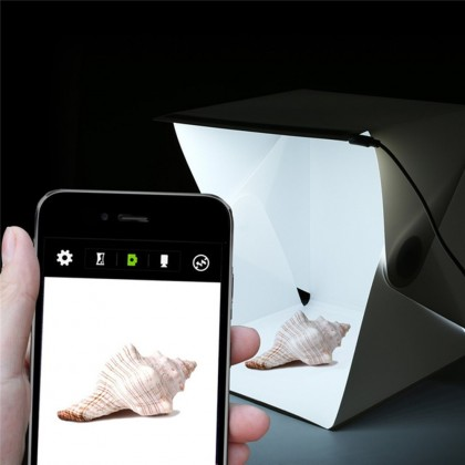 4GL 30cm(M) Photo Studio Mini Box Photography Backdrop with LED Light
