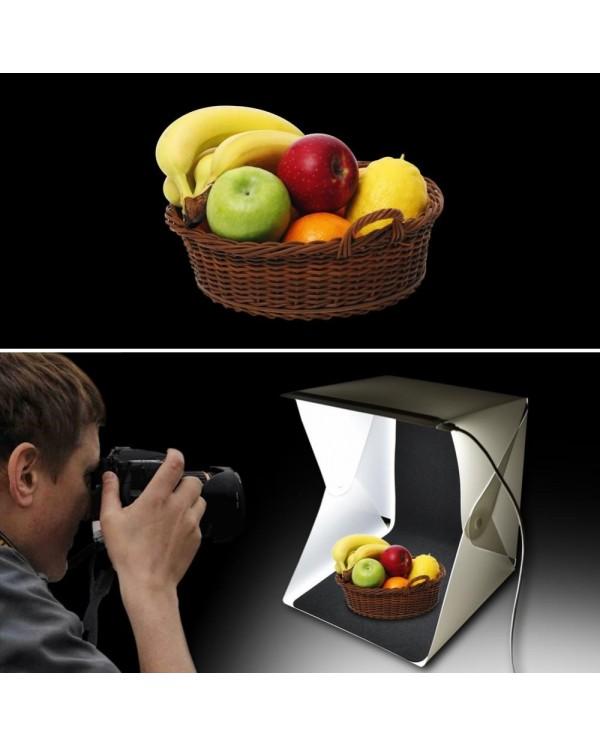 4GL 30cm(M) Mini Photo Studio Box Photography Backdrop with LED Light