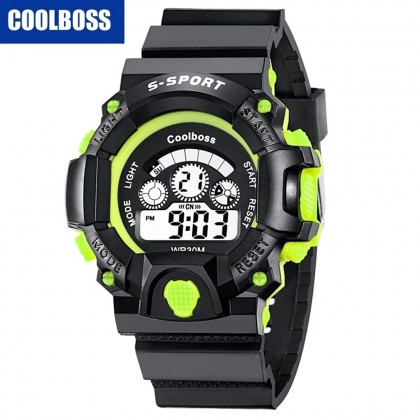 4GL CoolBoss / CooBoss CB-08 Men Watch Digital Watch Watches Jam Tangan