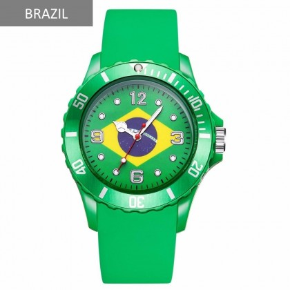 4GL World Cup 2018 Country Flag Wrist Watch Jam Tangan