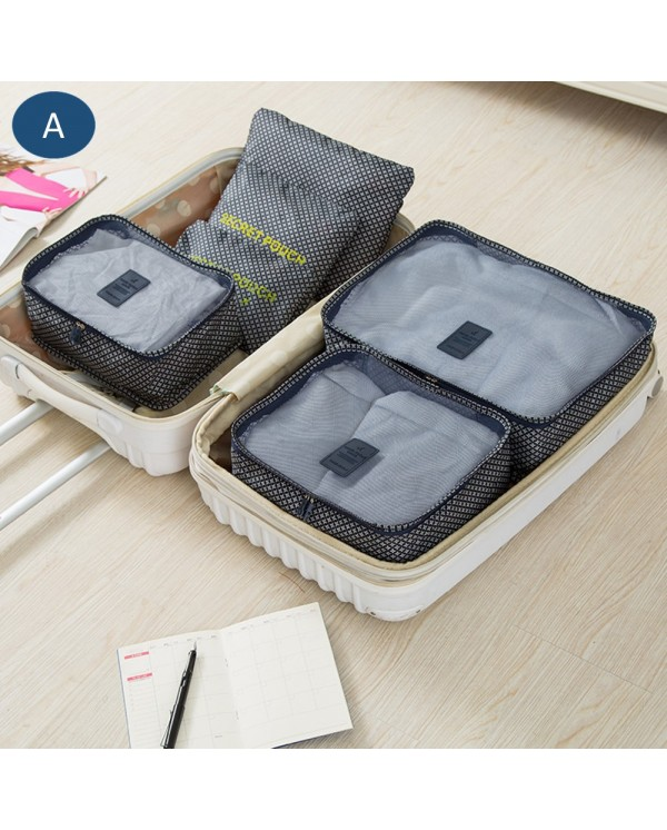 4GL Assorted Design 6pcs Set Organiser Travel Bag