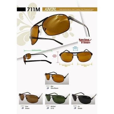 4GL Ideal 711M Men Unisex Fashion Polarized Sunglasses UV400