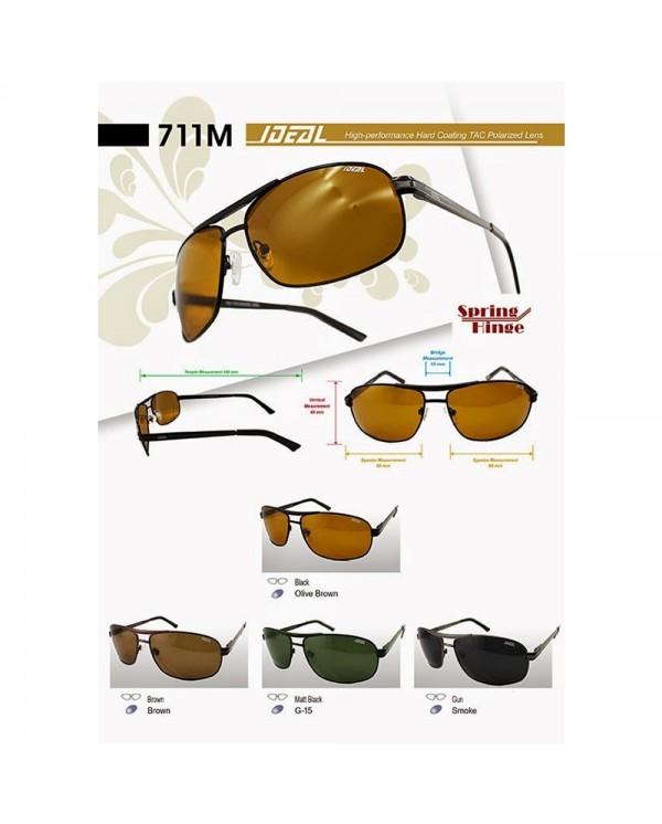 4GL Ideal 711M Men Unisex Fashion Polarized Sunglasses UV400