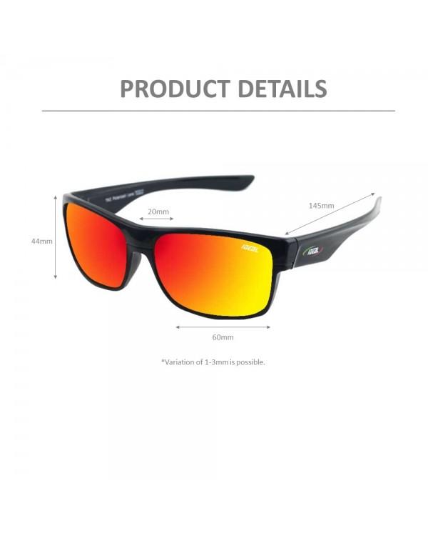 4GL Ideal 388-8985 Polarized Sport Sunglasses UV 400