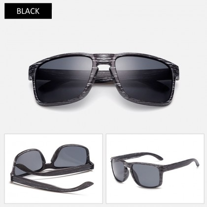 4GL Fashion 001 Black White Frame Men Sunglasses
