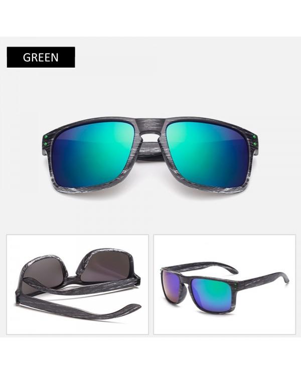 4GL Fashion 001 Black White Frame Men Sunglasses