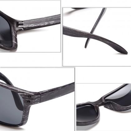4GL 001 Sunglasses Fashion Black White Frame Men