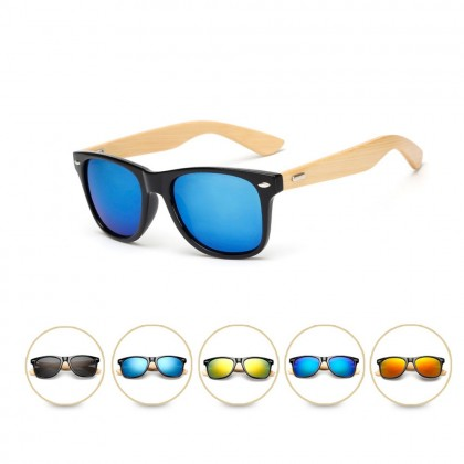 4GL 1501 Fashion Wooden Sunglasses Men