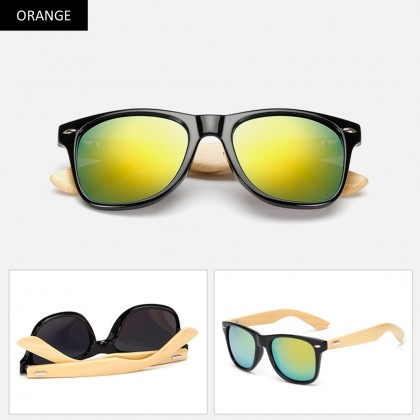 4GL 1501 Sunglasses Fashion Men Women Unisex Wooden Glasses