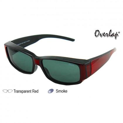 4GL Ideal 588-8842 Polarized Sunglasses Fit Over Overlap Sport UV 400