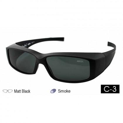 4GL IDEAL 588-8929 Fit Over Overlap Polarized Sport Sunglasses UV 400