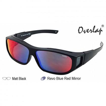 4GL Ideal 588-8976 Polarized Sunglasses Fit Over Overlap Sport UV 400