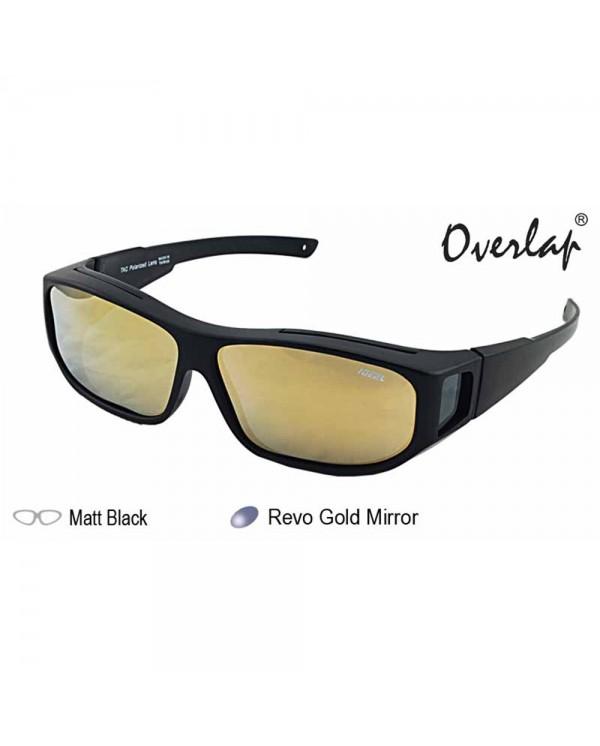 4GL IDEAL 588-8976 Fit Over Overlap Polarized Sport Sunglasses UV 400