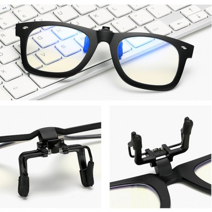 4GL 2140 Anti Blue Light Clip-On Glasses