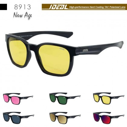 4GL IDEAL 8913 New Age Polarized Sunglasses UV 400