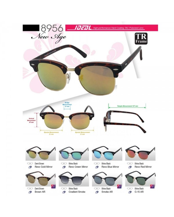 4GL IDEAL 8956 New Age Polarized Sunglasses UV 400