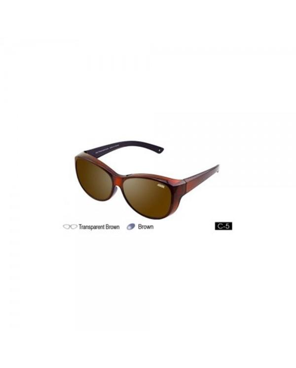 4GL IDEAL 588-8974 Fit Over Overlap Polarized Sport Sunglasses UV 400