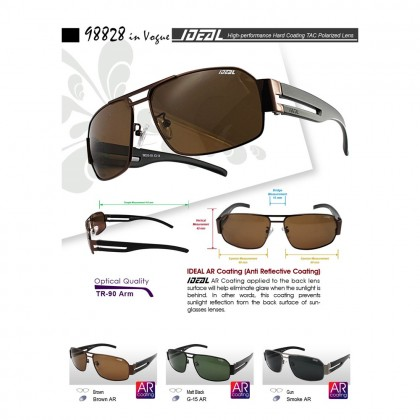 4GL IDEAL 98828 In Vogue Polarized Sunglasses UV400