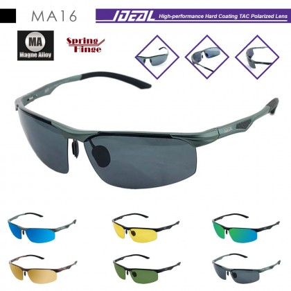 4GL IDEAL MA16 Magne Alloy Spring Hinge Polarized Sunglasses UV400