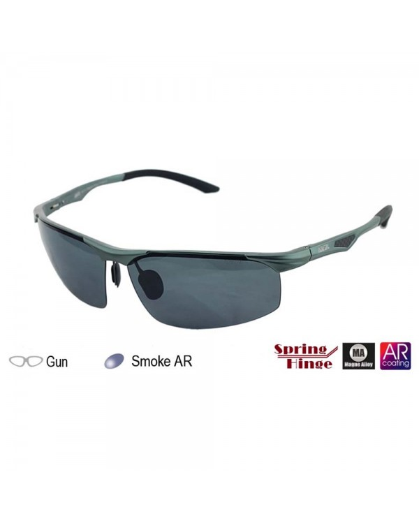 4GL IDEAL MA16 Magne Alloy Spring Hinge Polarized Sunglasses UV400