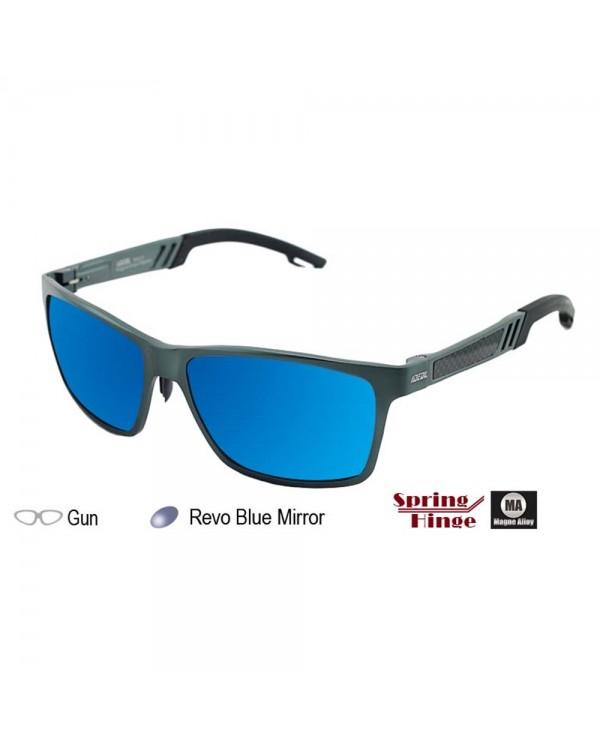 4GL IDEAL MA18 Magne Alloy Spring Hinge Polarized Sunglasses UV400