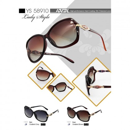 4GL Ideal YS-58910 Polarized Sunglasses Lady Style UV400