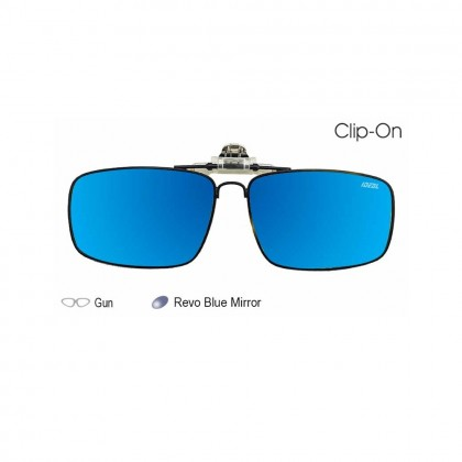 4GL Ideal C9765 Clip On Polarized Sunglasses UV400