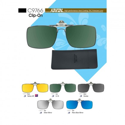4GL IDEAL C9766 Clip On Polarized Sunglasses UV400