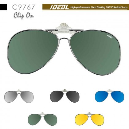 4GL IDEAL C9767 Clip On Polarized Sunglasses UV400